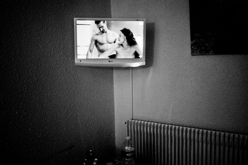 Hotelværelse, Perpignan, september 2013.